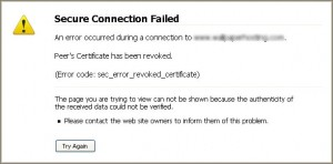 Secure Connection Failed in Firefox – Edel Alon