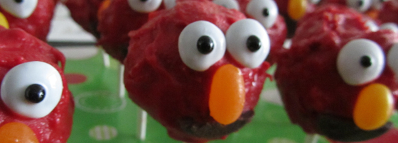 Elmo Cake Pops Header