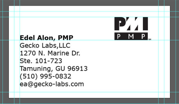 PMP-Business-Card-Template